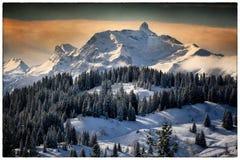 Landskap av berg Arkivbilder