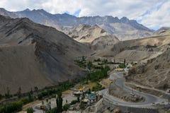 Landskap av berg Arkivbild