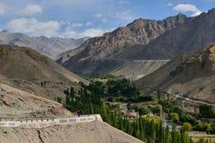 Landskap av berg Royaltyfri Bild