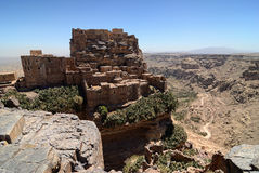 Berg Yemen arkivfoton