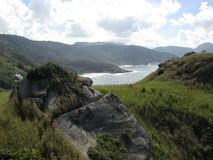 Landskap av bergen royaltyfria bilder