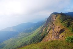 Landskap av berget. royaltyfri foto