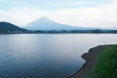 Landskap av berget Fuji Arkivbilder