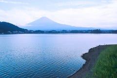 Landskap av berget Fuji Royaltyfria Bilder