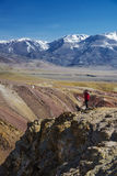 Landskap av berghorisonter Arkivbild