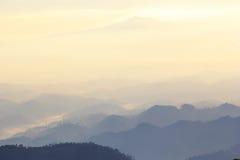Landskap av bergsikten Royaltyfria Foton