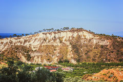 Landskap av Calabria Royaltyfria Bilder
