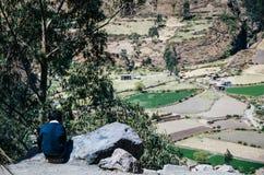Landskap av Canta - Lima - Peru Royaltyfria Foton
