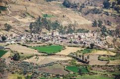 Landskap av Canta - Lima - Peru Arkivfoton