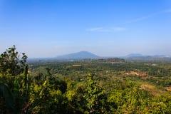 Landskap av Chanthaburi Arkivfoto