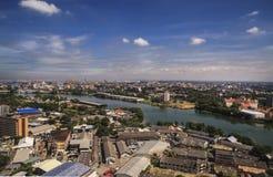 Landskap av Colombo - Sri Lanka Arkivfoto