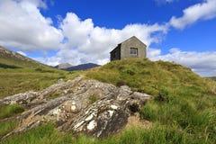 Landskap av Connemara i Irland Arkivbild