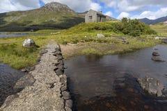 Landskap av Connemara i Irland, Europa Arkivfoton