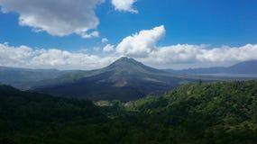 Landskap av den Batur vulkan Royaltyfria Foton