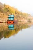 Landskap av den Chishui floden arkivbild