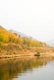 Landskap av den Chishui floden royaltyfri foto