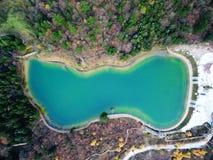 Landskap av den Guanegou medborgaren Forest Park i Kina ` s Gansu Arkivbild