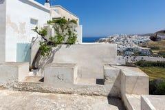 Landskap av den Naxos ön, Cyclades Arkivbilder