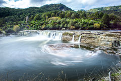 Landskap av den södra ön, Nya Zeeland Fotografering för Bildbyråer
