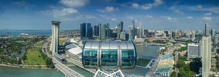 Landskap av den Singapore staden Arkivbilder