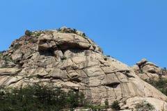 Landskap av det Erlong berget Royaltyfri Bild