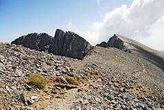 Landskap av det Olympus berget arkivbild