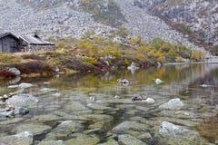 Landskap av det Taibai berget Royaltyfri Fotografi
