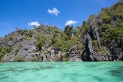 Landskap av El Nido Palawan ö philippines Fotografering för Bildbyråer