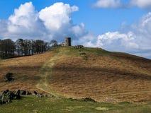 Landskap av England Arkivfoto