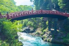 Landskap av flodbron Royaltyfria Foton