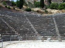 Landskap av forntida Grekland Arkivfoto