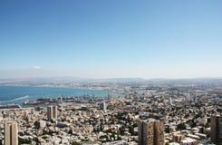 Landskap av Haifa Royaltyfri Bild