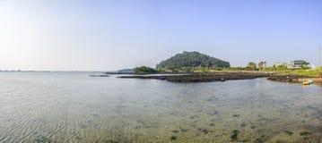 Landskap av inga Jeju Olle cours 2 Fotografering för Bildbyråer