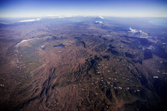 Landskap av Kamchatka Royaltyfri Fotografi