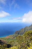 Landskap av Kauai Royaltyfria Foton