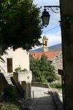 Landskap av Korsika i sommartiden Fotografering för Bildbyråer