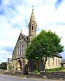 Landskap av kyrkan av vår dam av Beith för evigt bistånd den norr ayrshiren Royaltyfria Bilder