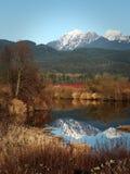 Landskap av lönn Ridge, British Columbia, Kanada royaltyfri fotografi