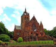 Landskap av lagminnesmärkekyrkan, paisley, renfreshire Royaltyfria Bilder