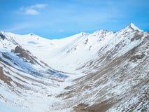 Landskap av Lah ladakh, Indien Royaltyfri Fotografi