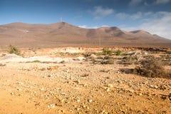 Landskap av Marocko Royaltyfri Foto