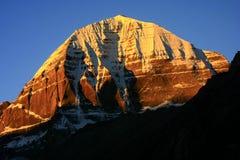 Landskap av Mount Kailash fotografering för bildbyråer