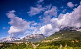 Landskap av nationalparken av ordesaen spain royaltyfri foto