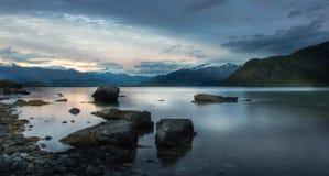 Landskap av Nya Zeeland Royaltyfri Bild