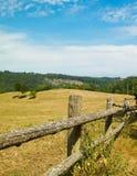 Landskap av ranchen i den Wiezyca regionen, Kashubia, Polen arkivfoton