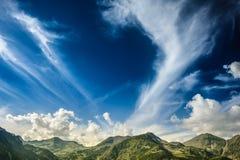 Landskap av Retezat berg, Rumänien, Europa Arkivfoto