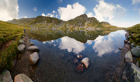 """Landskap av Rila's Kidney†för sjö""""The  (Babreka), Bulgarien Royaltyfri Bild"""