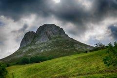 Landskap av Rocky Mountains i Spanien Arkivfoton
