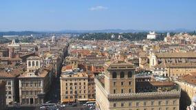 Landskap av Rome Arkivfoto