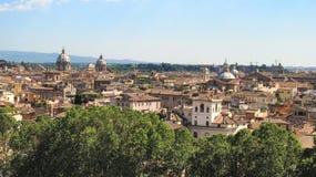 Landskap av Rome Arkivbild